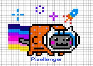 Nyan Cat Нян Кэт Космонавт