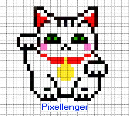 Кот счастья Манэко Нэко Японский талисман счастья