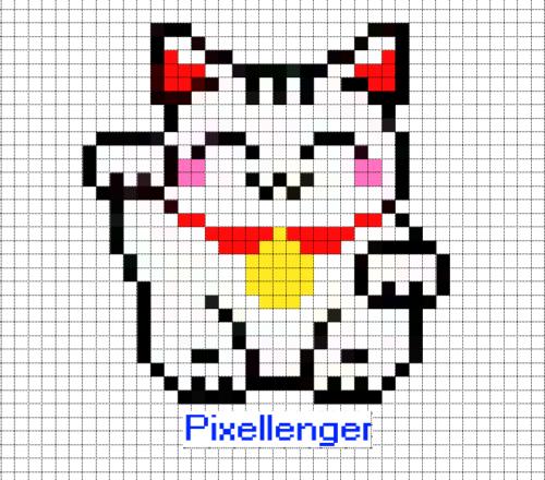Денежный кот Кот Счастья и удачи Манэки - Нэко Японский талисман